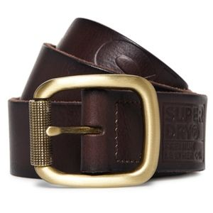 SUPERDRY GENUINE LEATHER BELT